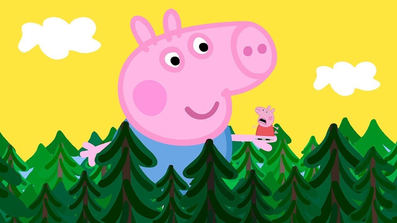 Peppa Pig Francais George Le Geant Contes De Fees Dessin