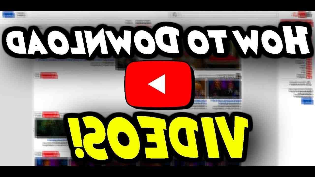 Comment télécharger et enregistrer une vidéo YouTube?
