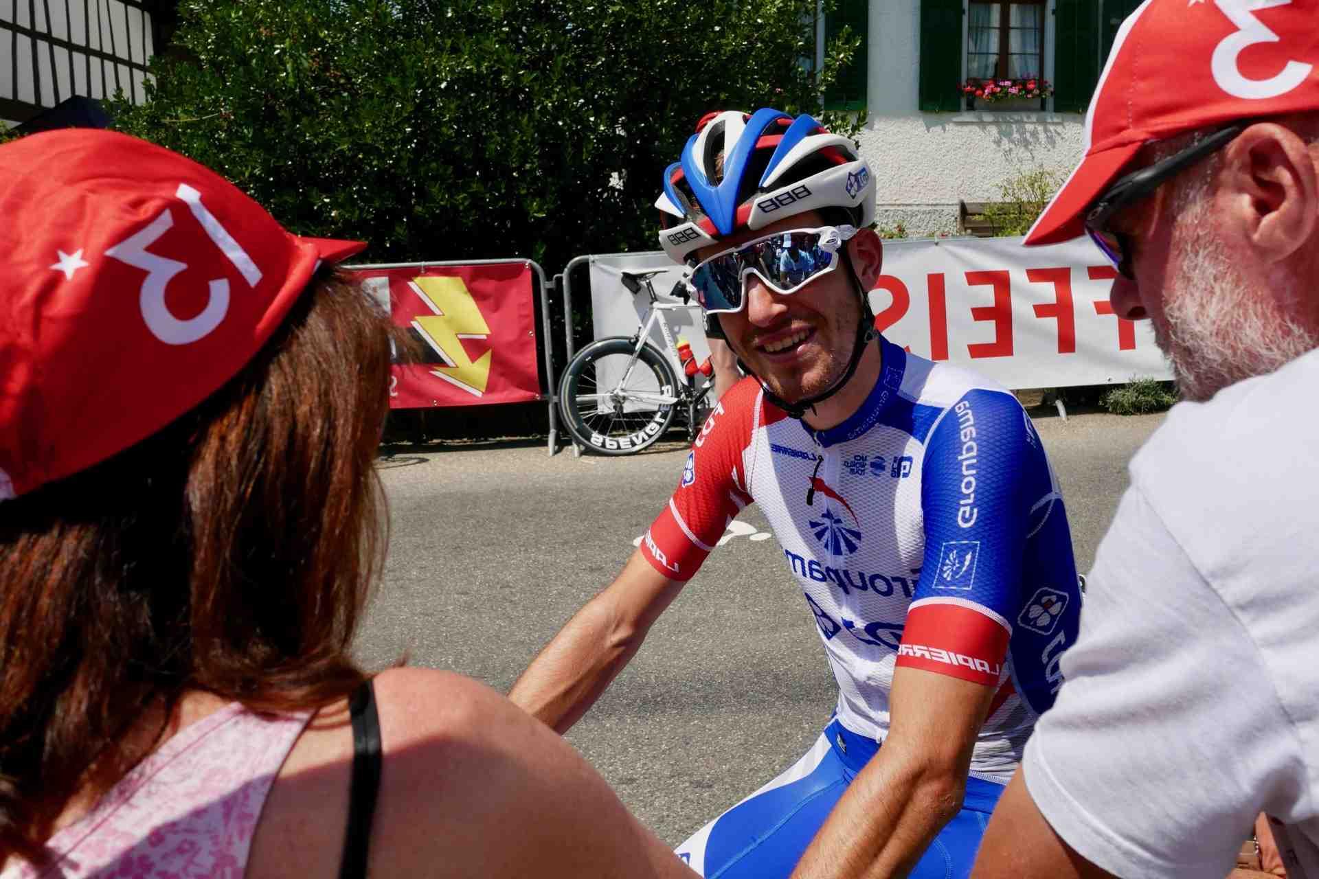 Cyclisme: Simon Pellaud arrêté par le Covid-19