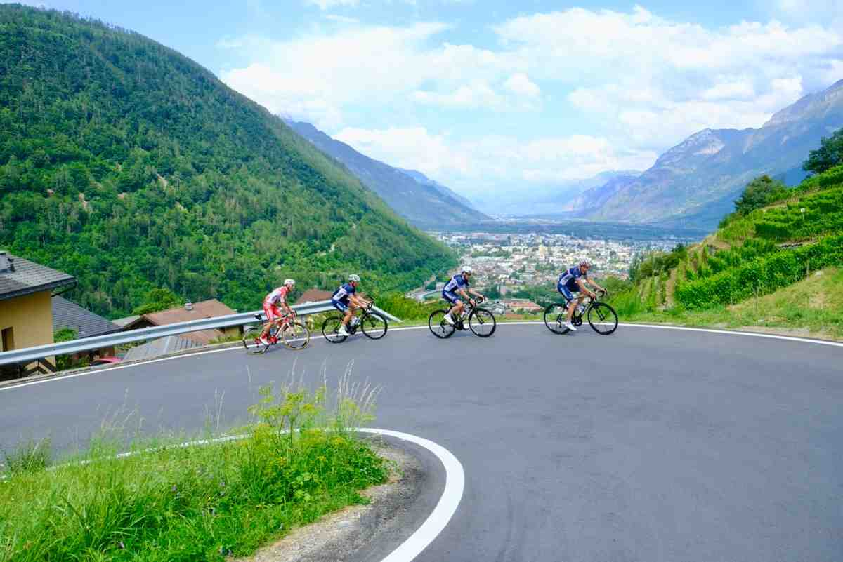 Cyclisme: deux Valaisans de retour à la maison