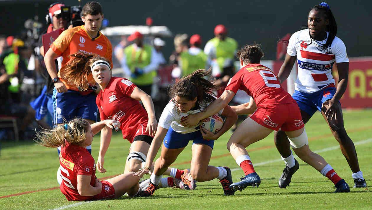 L'équipe de France féminine de rugby à 7 a remporté vendredi le tournoi de préparation de Dubaï en battant le Canada en finale. Les hommes, eux, ont pris la troisième place.
