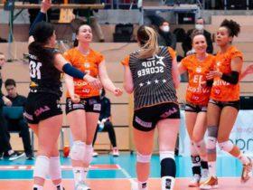 Volleyball: victoire impériale du NUC dans l'acte II