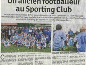 Football: le quotidien des jeunes dans un grand club