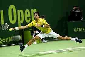 Le No 1 mondial a bataillé pour venir à bout, malgré la pluie et une longue interruption, de la résistance de l'Américain Taylor Fritz (31e mondial) 6-3, 7-6(5), lors de son entrée en lice au 2e tour du Masters 1000 de Rome.