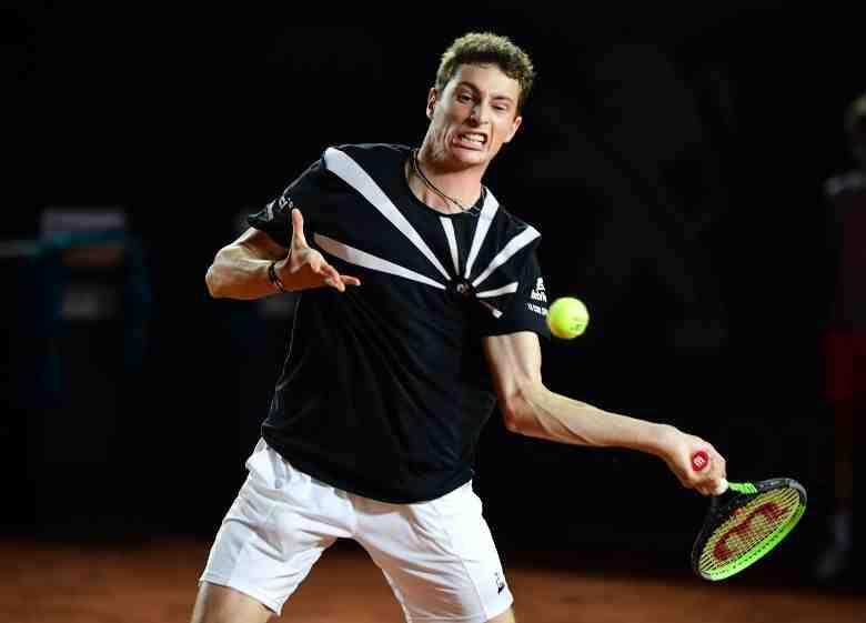 Nikoloz Basilashvili a remporté la finale de l'Open de Munich face à Jan-Lennard Struff (6-4, 7-6 [5]), dimanche.