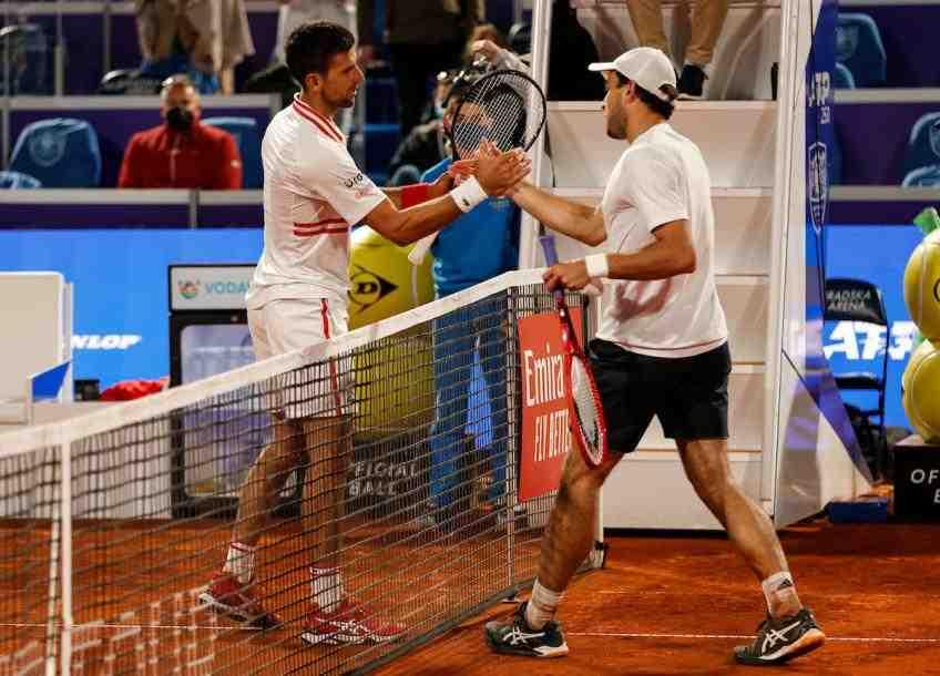 Roger Federer parlait de Martina Navratilova à l'US Open 2003