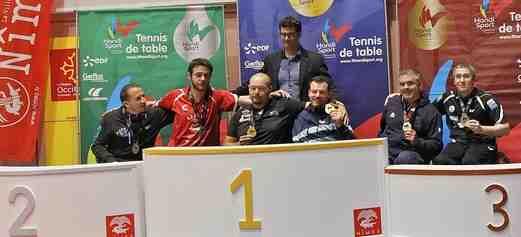 """Stéphane Lelong (directeur sportif du tennis de table pour la Fédération Française Handisport): """"Nous espérons faire aussi bien qu'à Rio, à savoir ramener cinq médailles dont deux en or."""""""