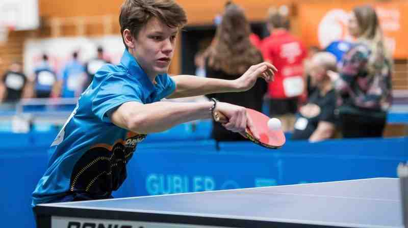 Tennis de table: le CTT La Chaux-de-Fonds termine la saison régulière au troisième rang