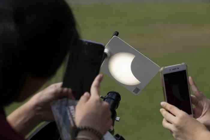 Comment  Observer une éclipse
