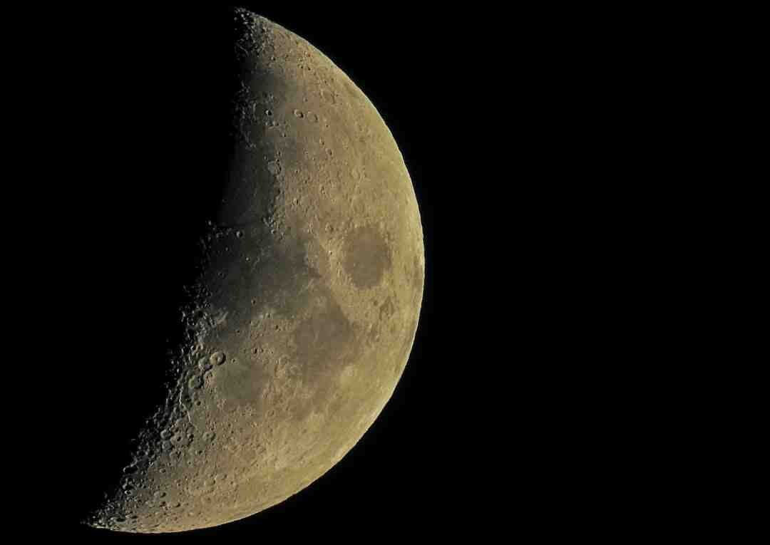 Comment  Savoir si la Lune est en phase ascendante ou descendante