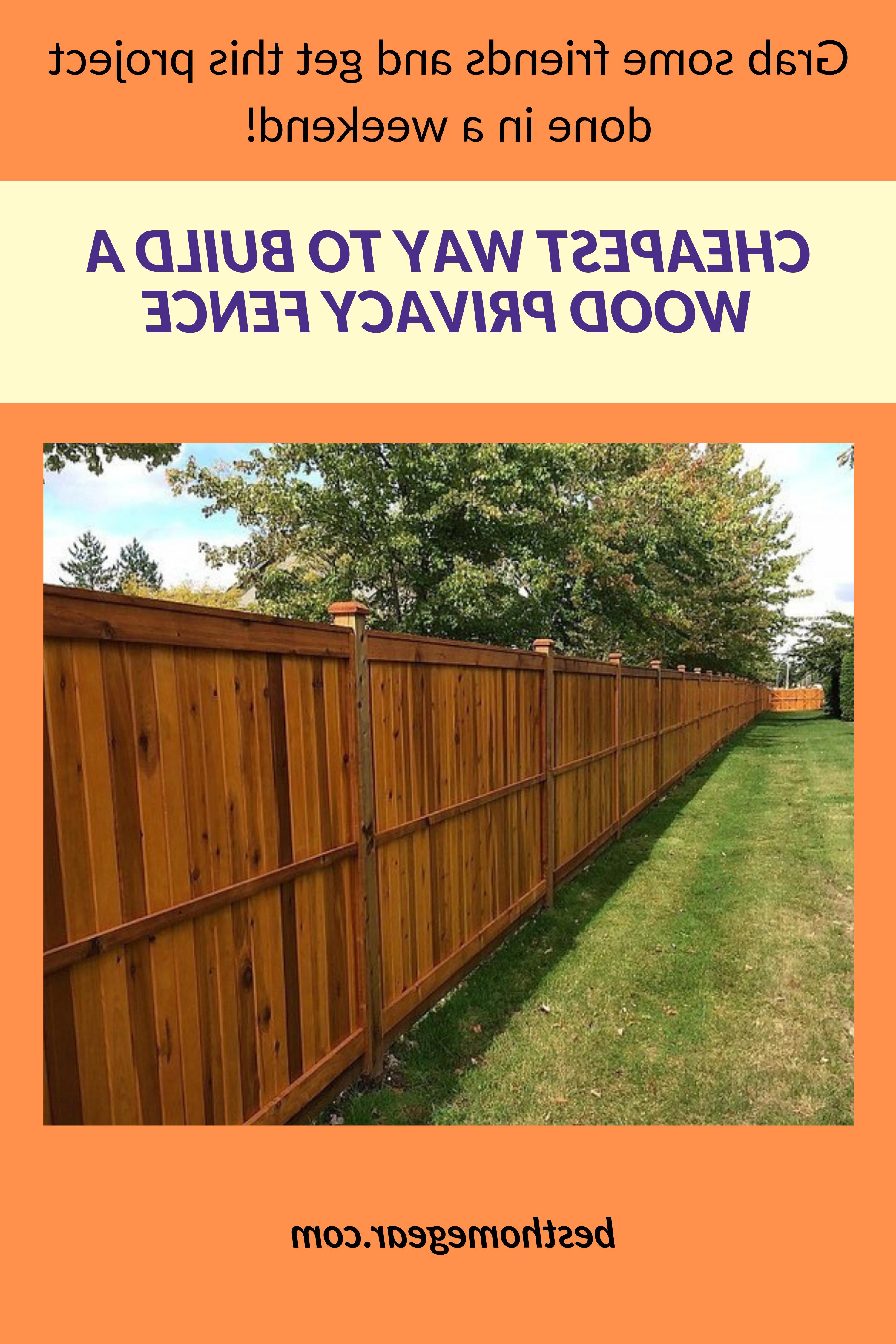 Comment construire sa clôture ?