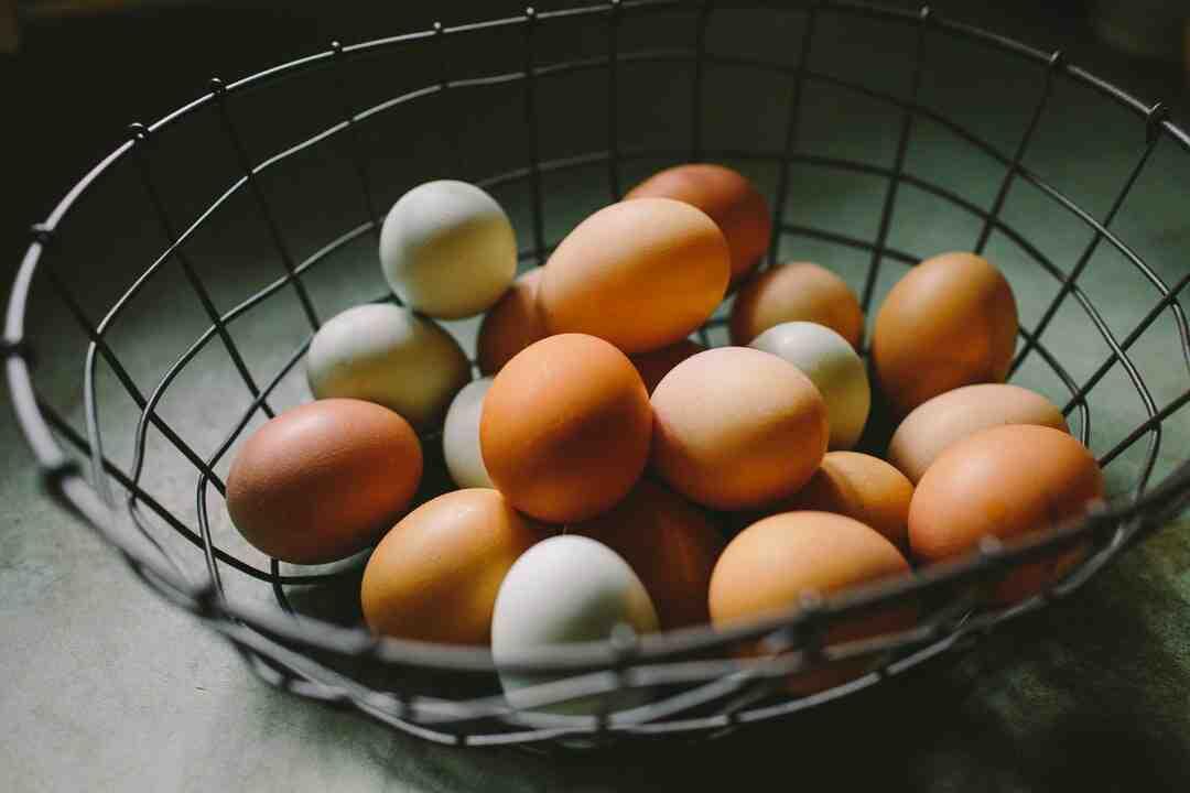 Comment enlever le jaune de l'œuf ?