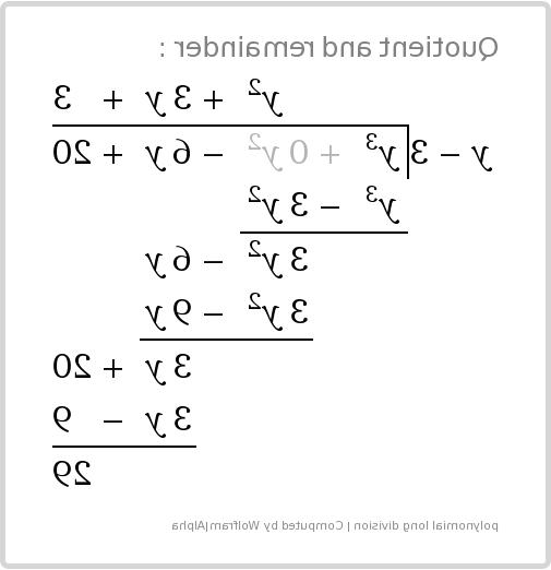 Comment factoriser un polynôme de degré n ?