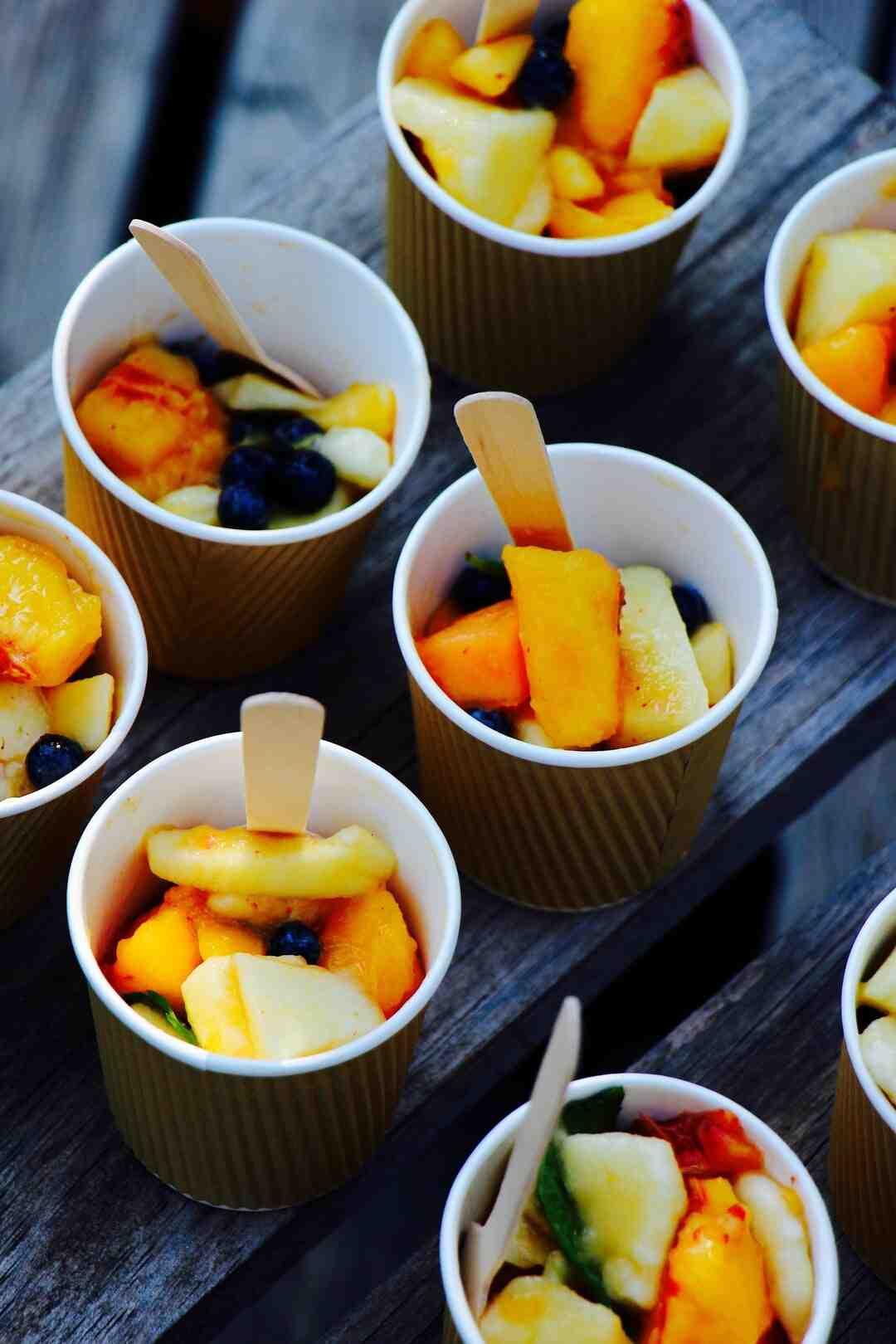 Comment faire un sirop pour salade de fruits maison ?