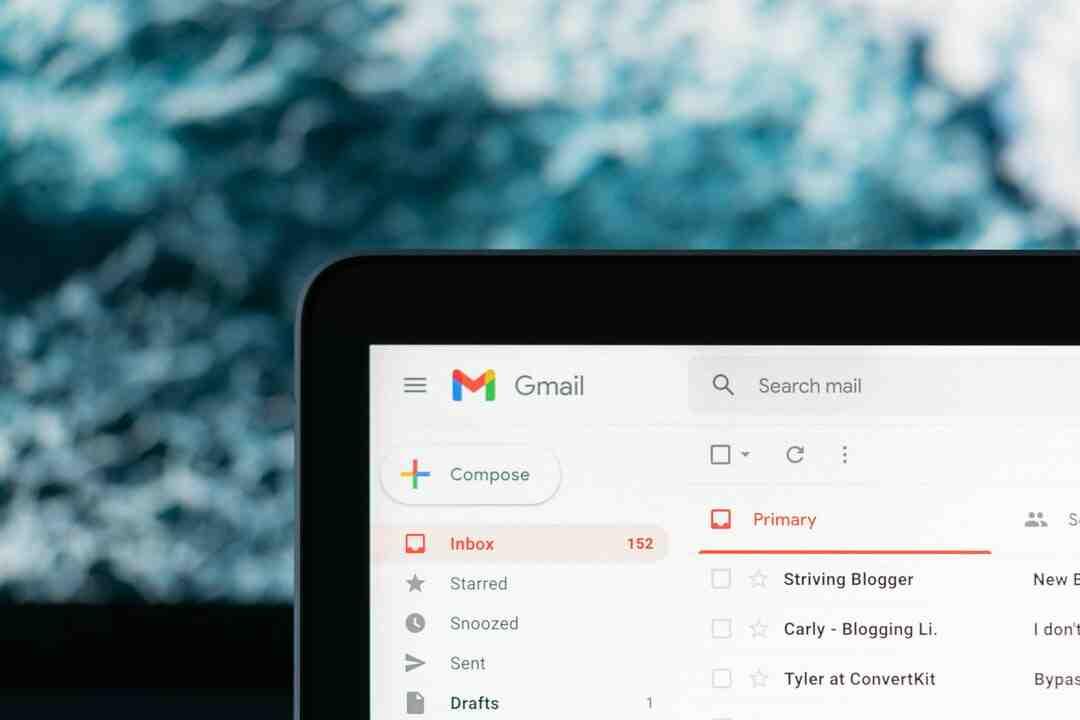 Comment mettre ma boite mail sur mon bureau ?