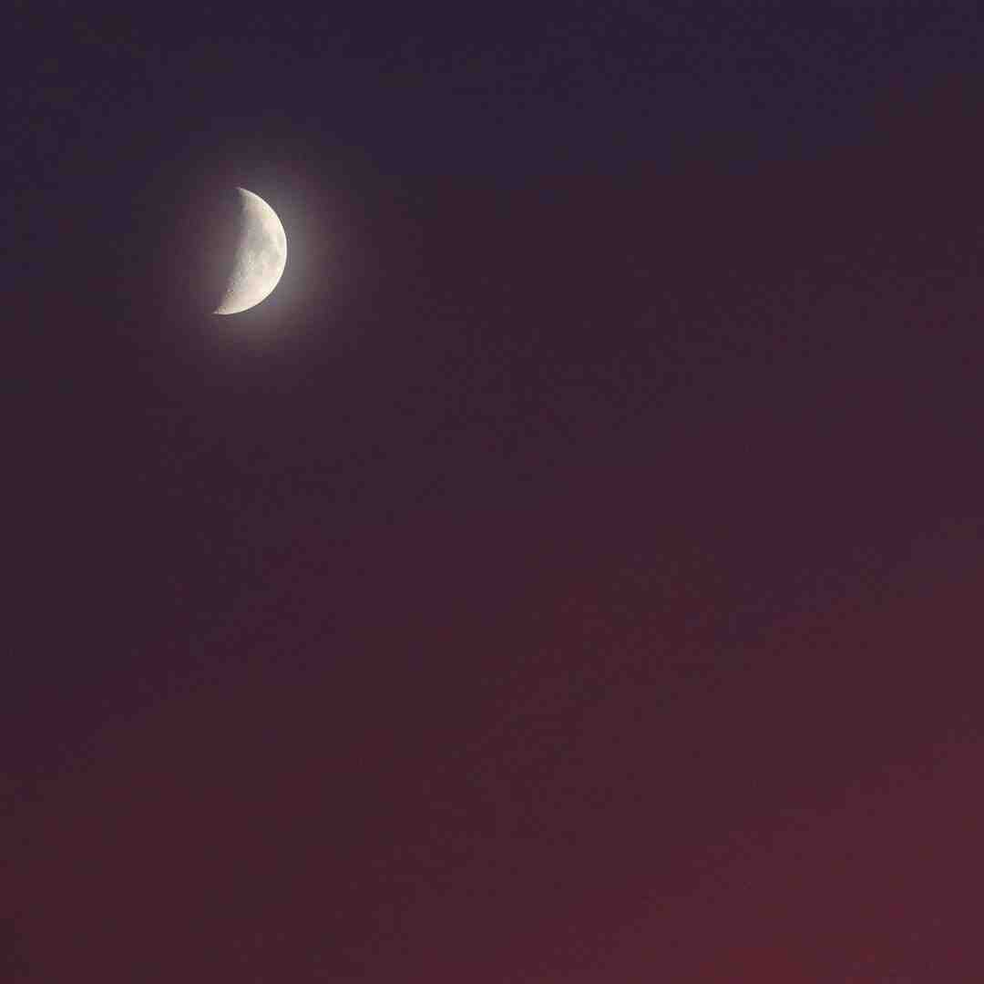Comment reconnaître le premier ou le dernier quartier de lune ?