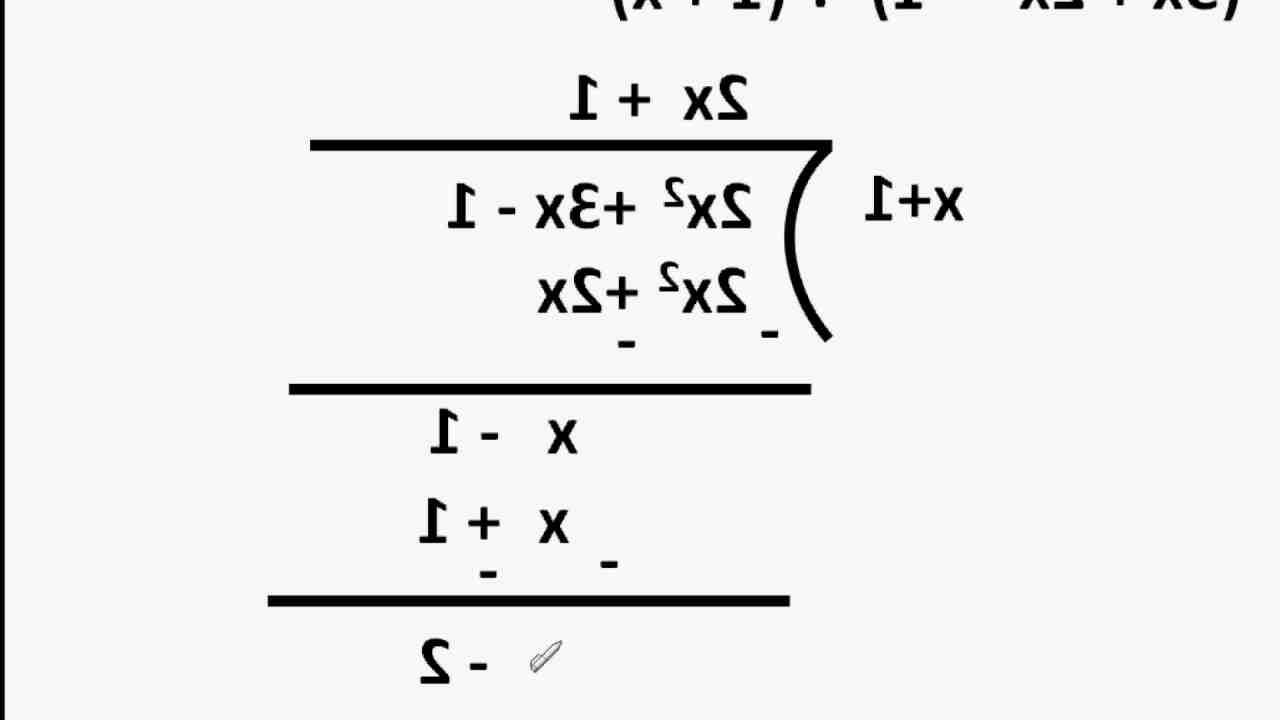 Comment utiliser la méthode de Horner ?