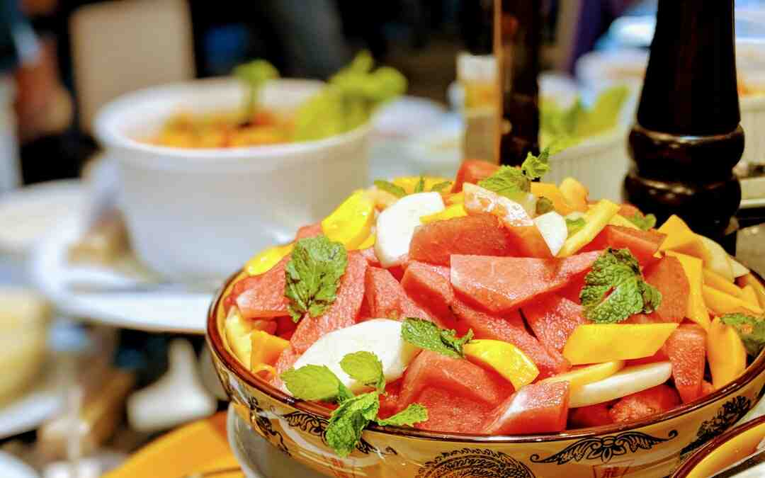 Puis-je faire une salade de fruit la veille ?