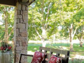 Comment  Construire une balançoire pour un porche