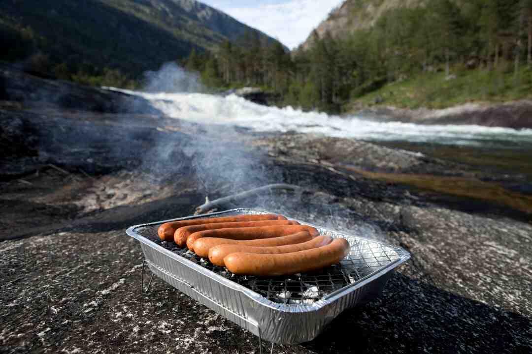 Comment  Cuisiner des saucisses knackwurst
