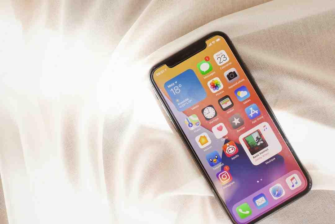Comment  Enregistrer sur un iPhone