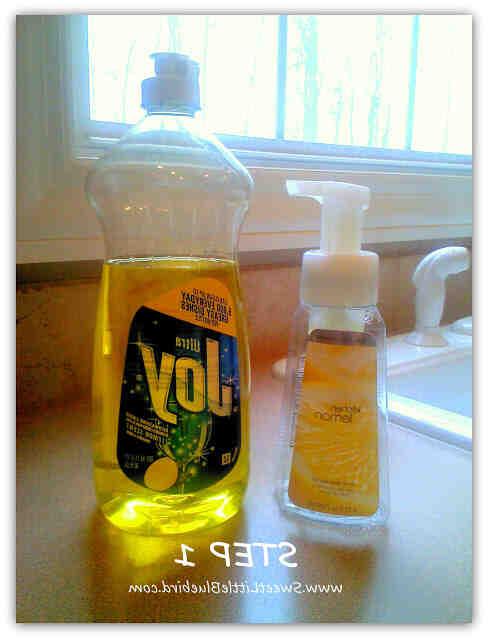 Comment  Faire du savon moussant pour les mains