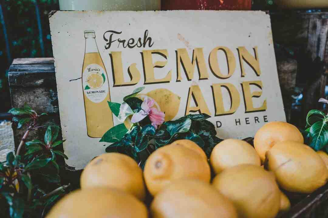 Comment  Ouvrir un stand de limonade