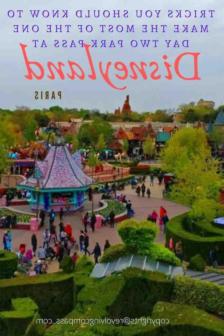 Comment  Passer une journée parfaite à Disneyland