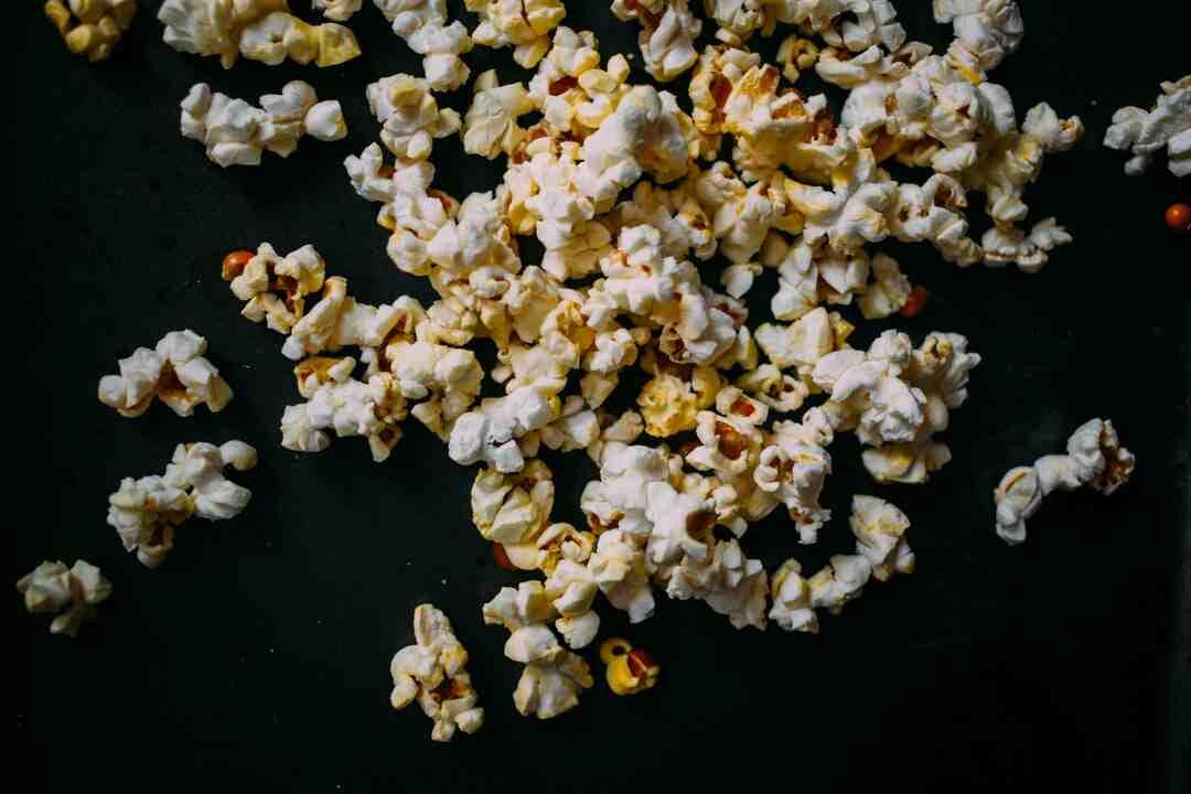 Comment  Préparer du popcorn comme au cinéma