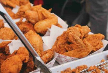 Comment  Réchauffer du poulet frit