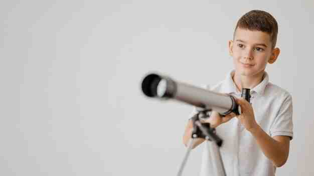Comment Voit-on avec un télescope ?