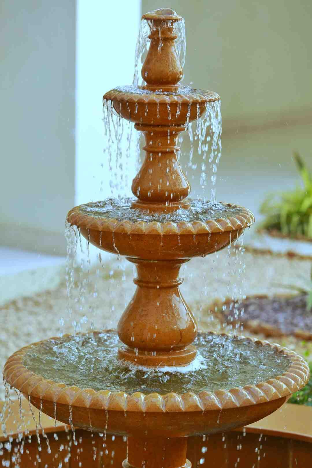 Comment construire une fontaine d'intérieur ?