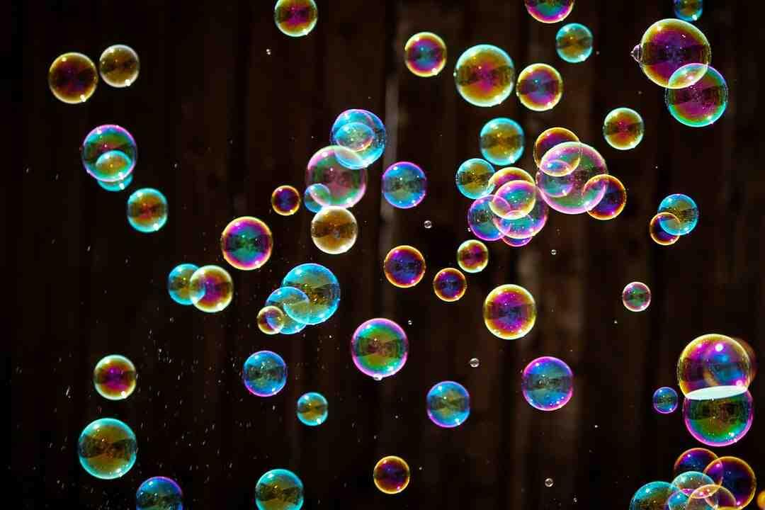 Comment faire des bulles sans souffler ?