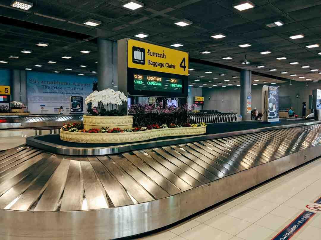 Comment se servir d'un pèse bagage ?