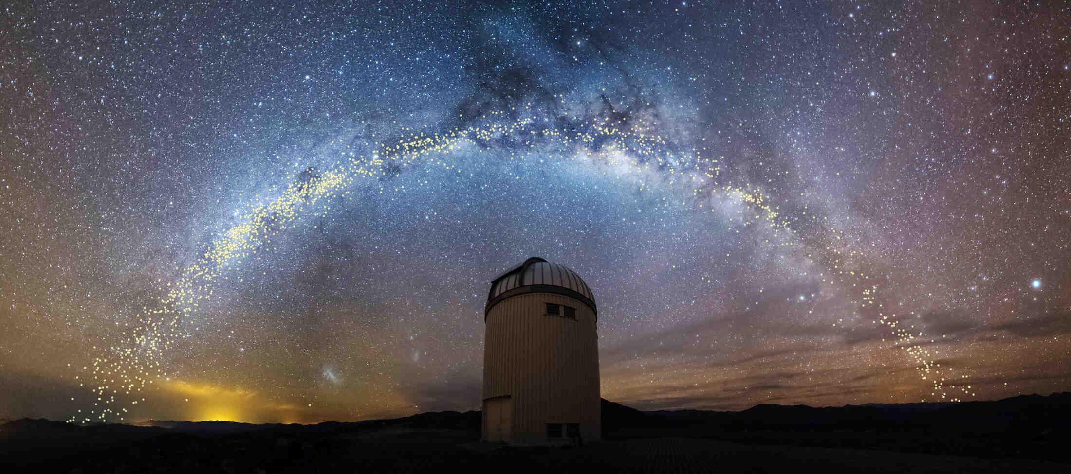 Est-ce qu'on peut voir la Voie lactée ?