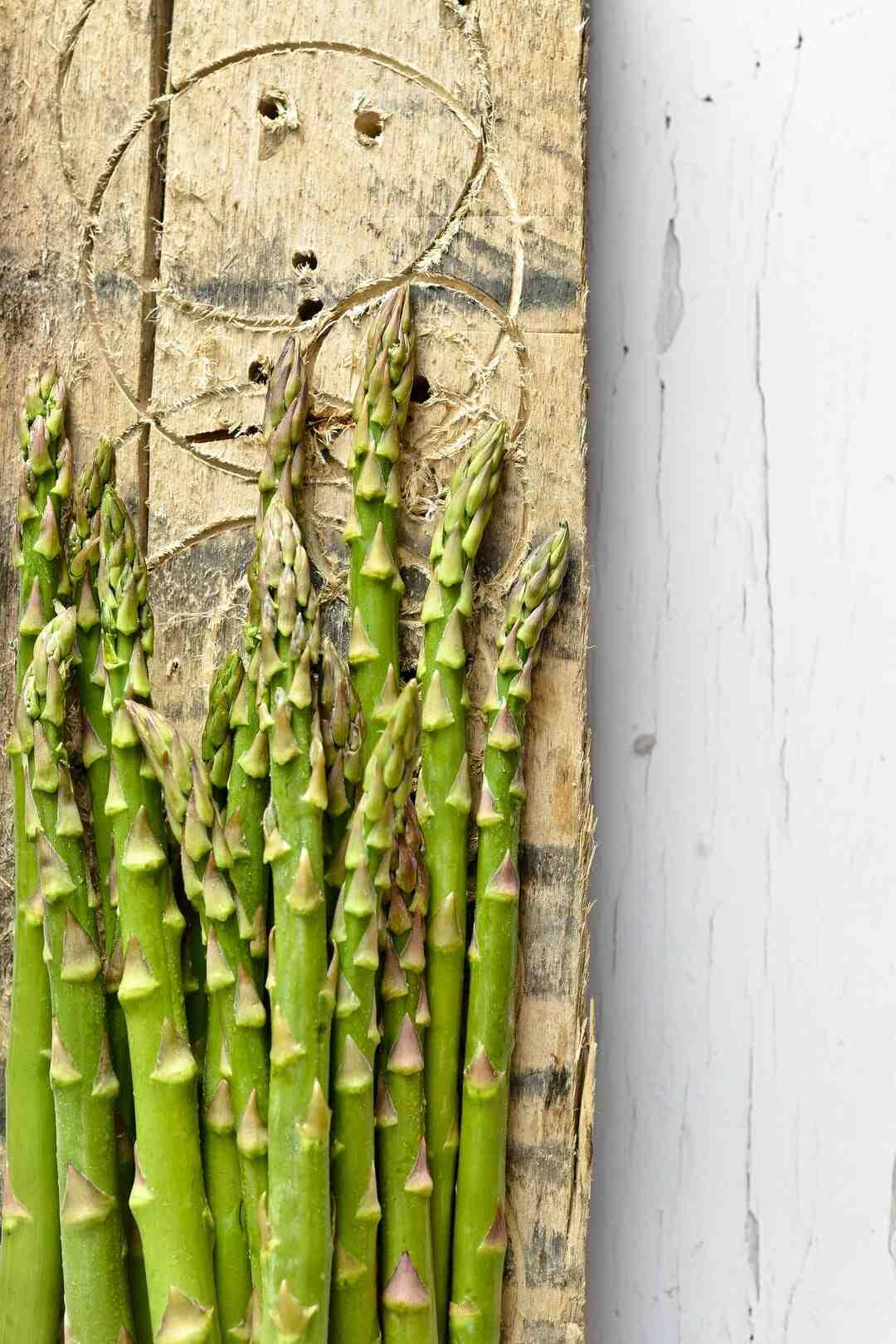Quand couper le feuillage des asperges ?