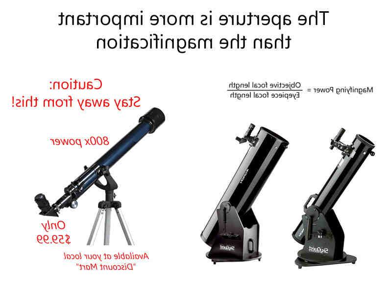 Quand utiliser un télescope ?