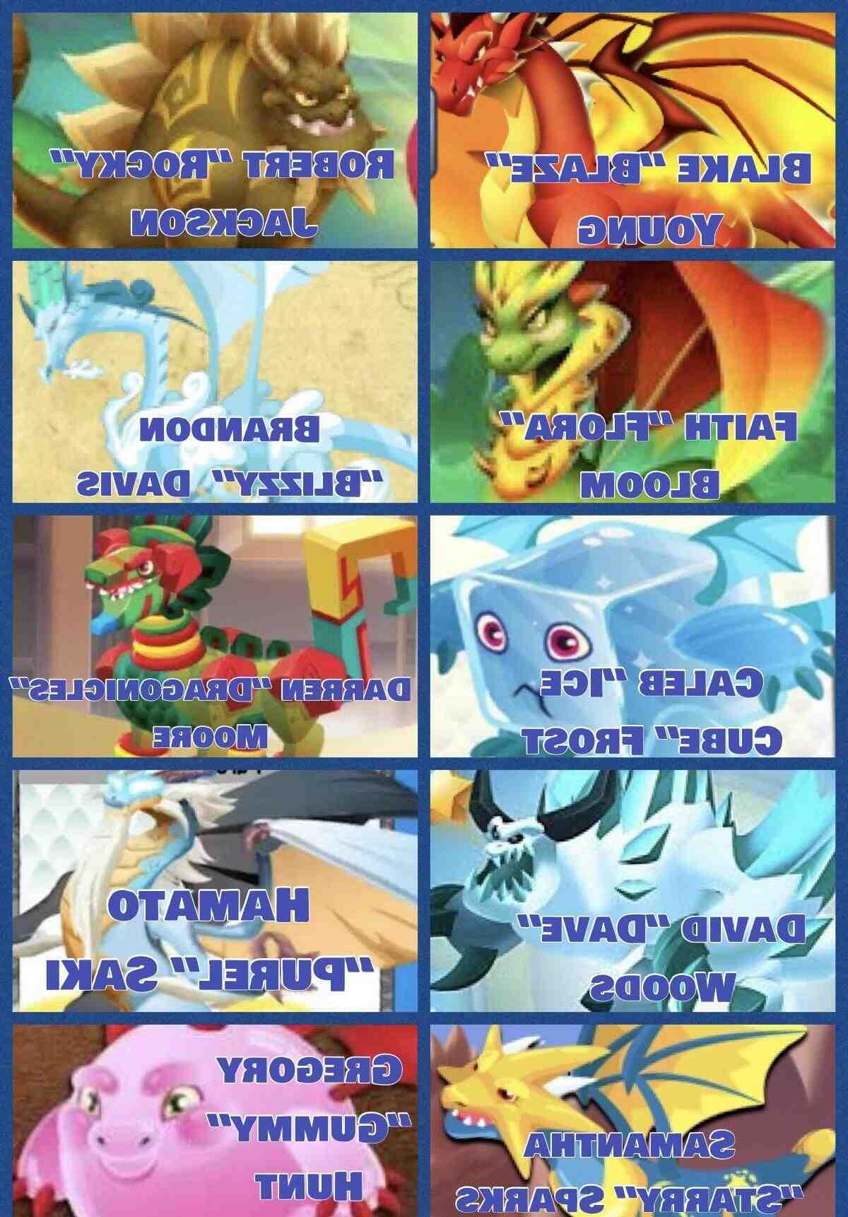 Quel est le meilleur dragon de Dragon City ?
