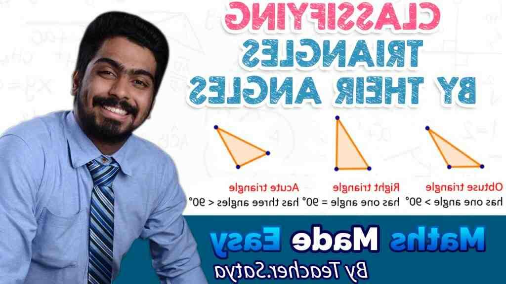 Quelles sont les différentes formes de triangles ?