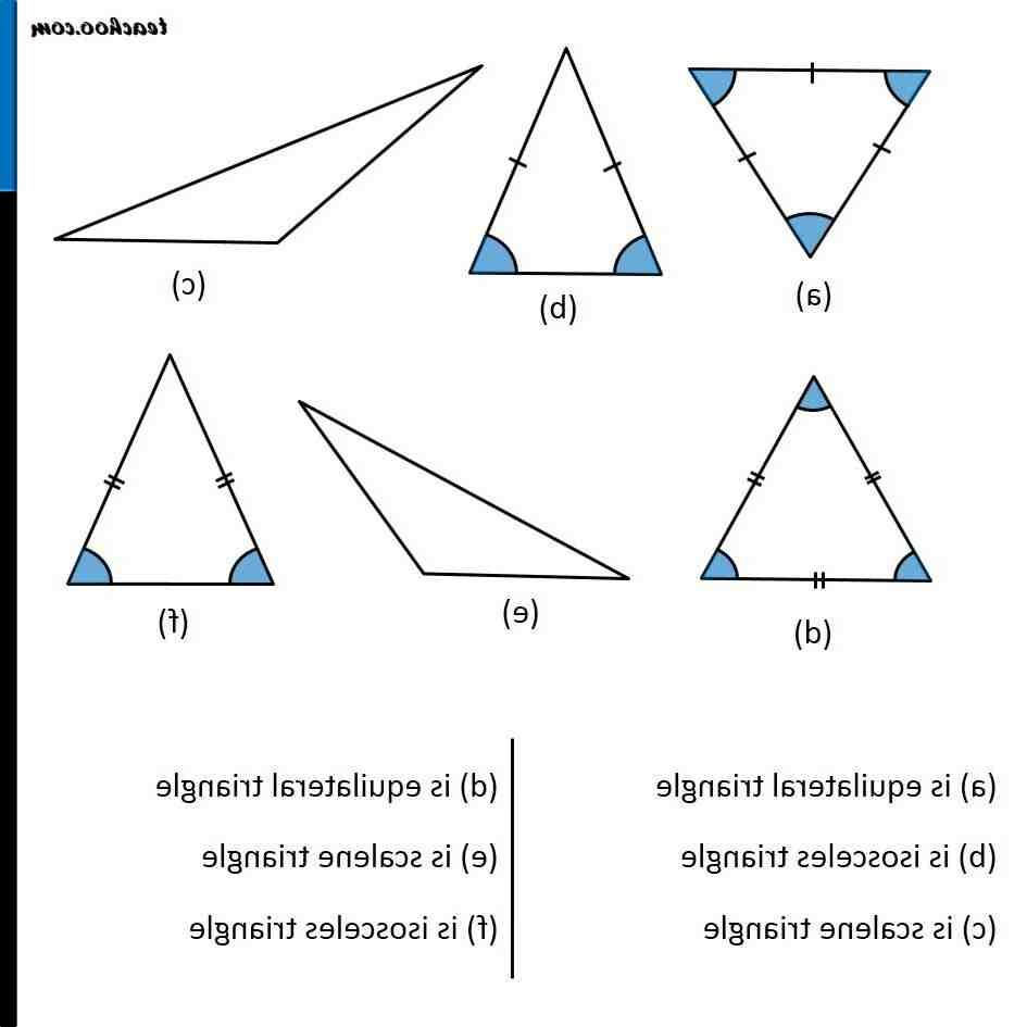 Quels sont les dimensions d'un triangle ?