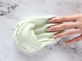 Comment  Faire du beurre slime sans argile