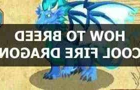 Comment  Faire un dragon Cool Fire dans Dragon City