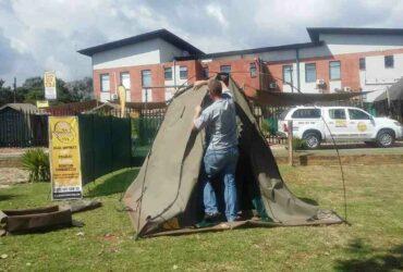 Comment  Monter une tente dôme