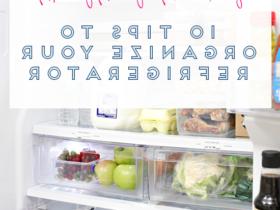 Comment  Organiser son réfrigérateur