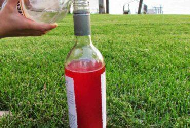 Comment  Réaliser un volcan avec une bouteille de boisson gazeuse