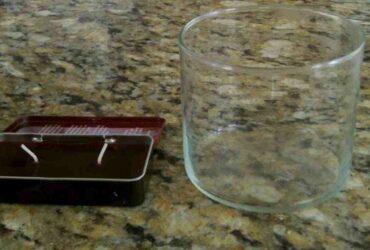 Comment  Retirer de la cire sur du verre