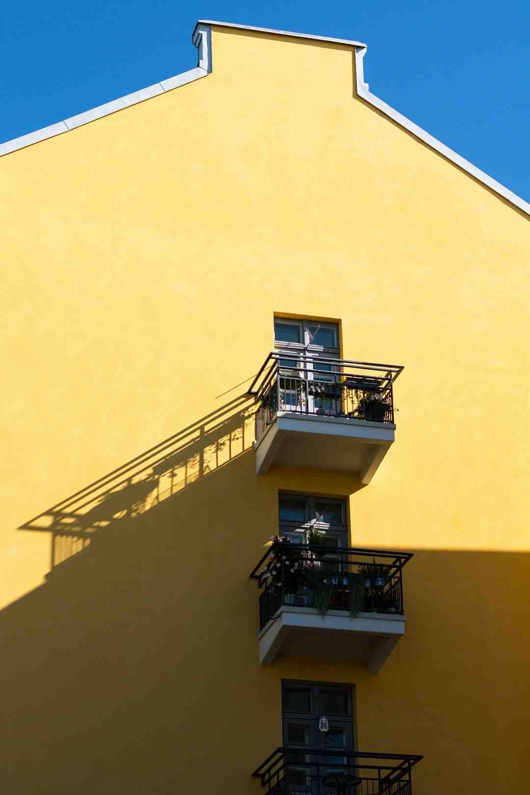 Comment agrandir visuellement un balcon ?