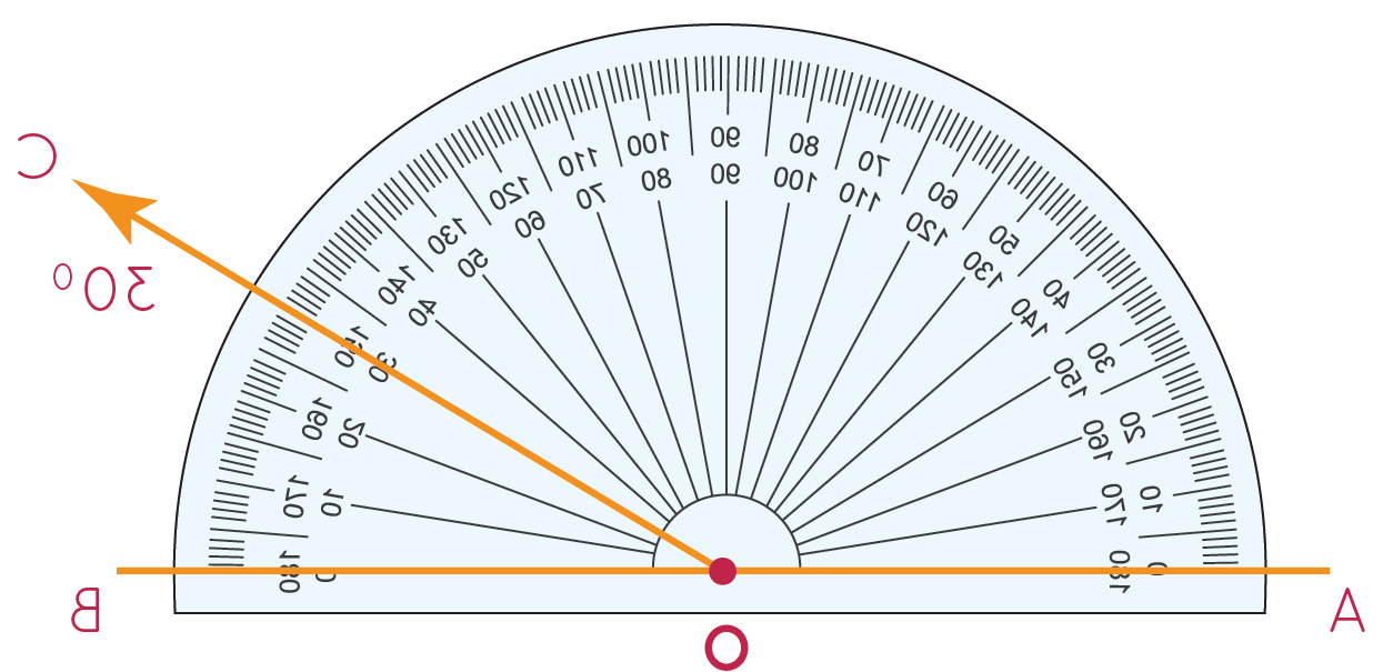 Comment calculer un angle à partir des longueurs ?