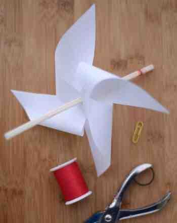 Comment faire des ailes de moulin à vent ?