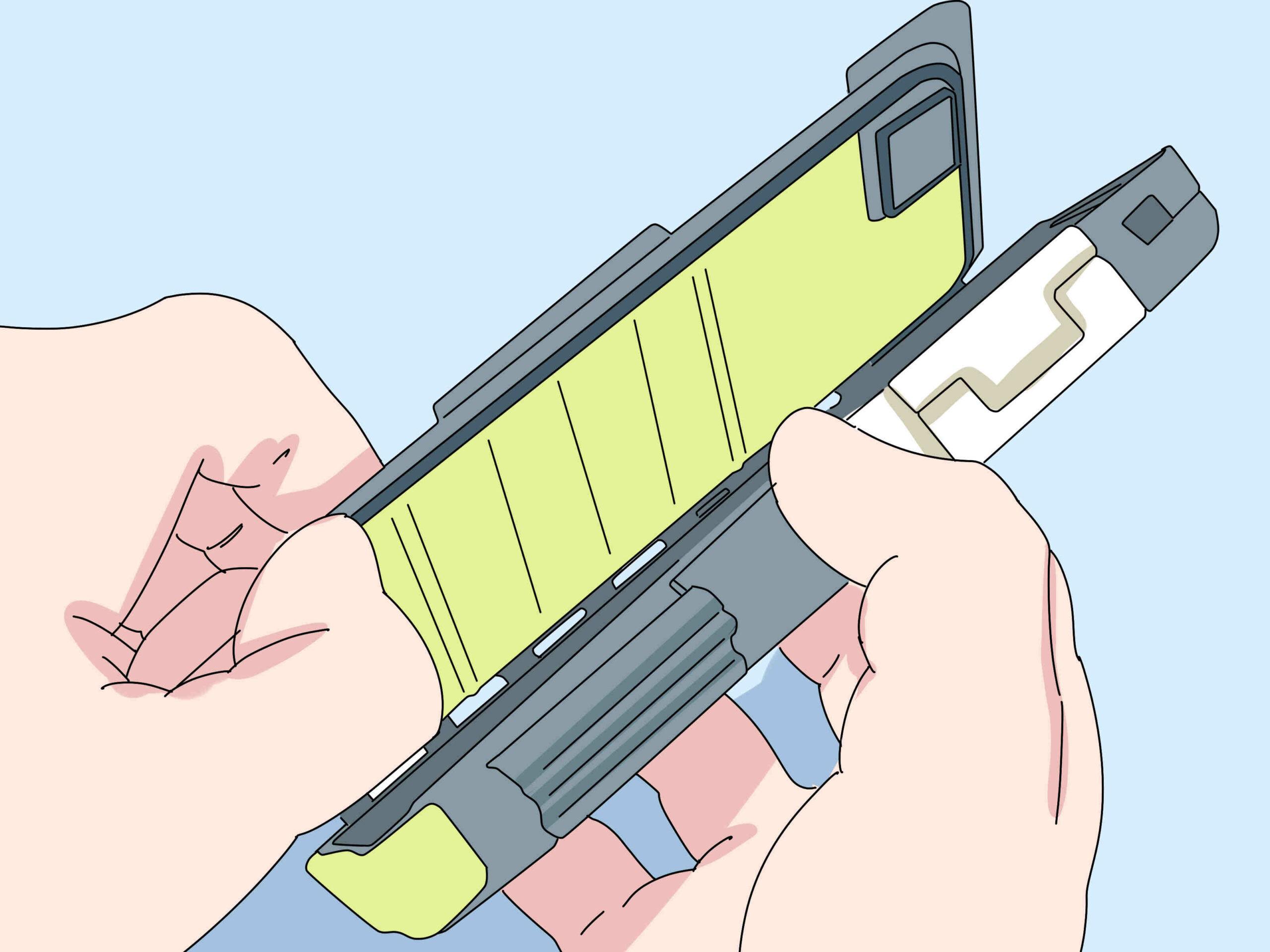 Comment ouvrir un telephone portable Samsung ?